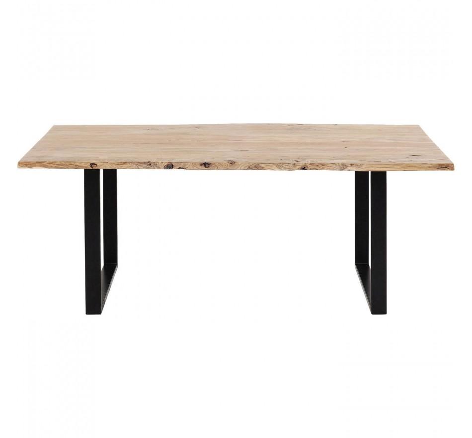 Table Harmony noire 180x90cm Kare Design