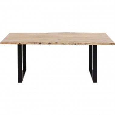 Table Harmony noire 180x90cm Kare Design