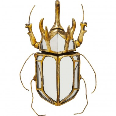 Wall Decoration Beetle Mirror Kare Design