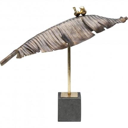 Deco Object Birds Banana Leaf 54cm Kare Design