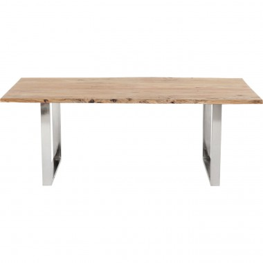 Table Harmony Chrome 180x90cm Kare Design
