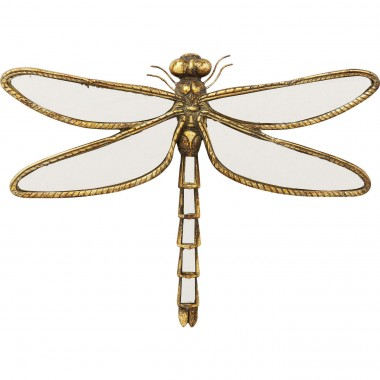 Wall Decoration Dragonfly Mirror Small Kare Design