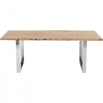 Table Harmony chrome 160x80cm Kare Design