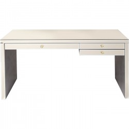 Desk Luxury Champagne 140x60cm Kare Design