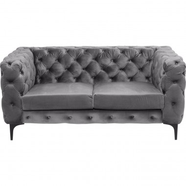 Sofa 2-Seater Two Step Grey Kare Design