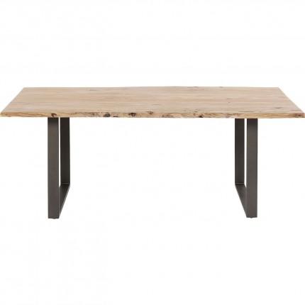 Table Harmony acier 160x80cm Kare Design