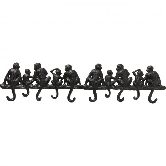 Coat Rack Monkey Family Big Kare Design