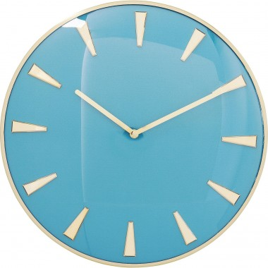 Wall Clock Malibu Light Blue Ø40cm Kare Design