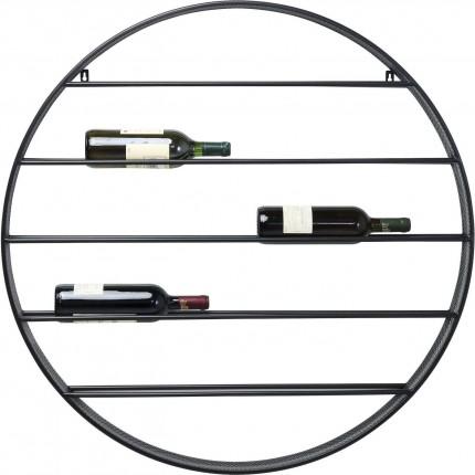 Wall Wine Shelf Bistro Round Ø90cm Kare Design