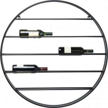 Wall Wine Shelf Bistro Round Ø90cm Kare Design
