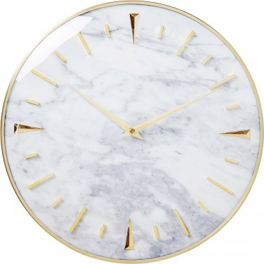 Wall Clock Noble Marble Ø40cm Kare Design
