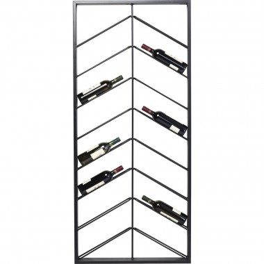 Wall Wine Shelf Bistro Double 160cm Kare Design