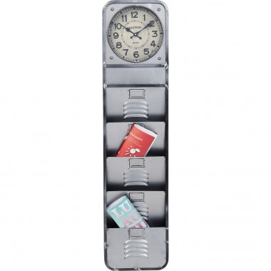 Wall Clock Thinktank Kontor 124cm Kare Design