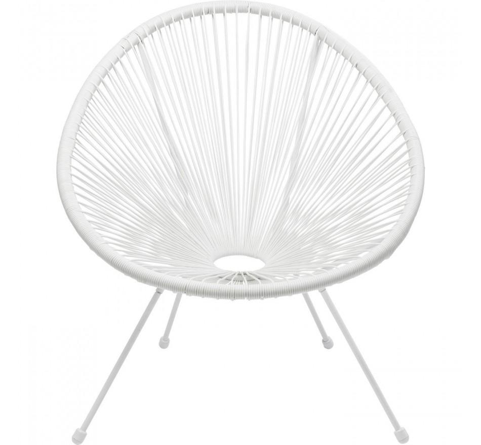 Witte Design Fauteuil.Fauteuil Voor Buiten Acapulco Wit Kare Design