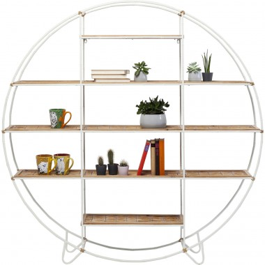Shelf Jungle Bamboo White 150 Kare Design