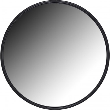 Mirror Celebration Matt Black Ø60cm Kare Design