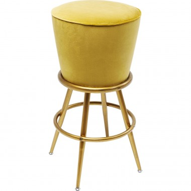 Bar Stool Lady Rock Yellow Kare Design