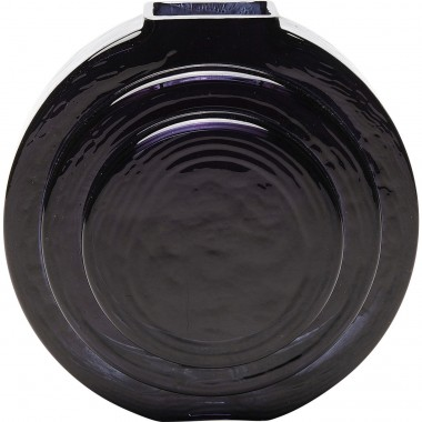Vase Las Vegas Disc Black Kare Design