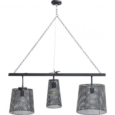 Suspension Gorgeous noire 3 Kare Design