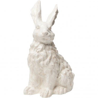 Deco Object Rabbit White 47cm Kare Design