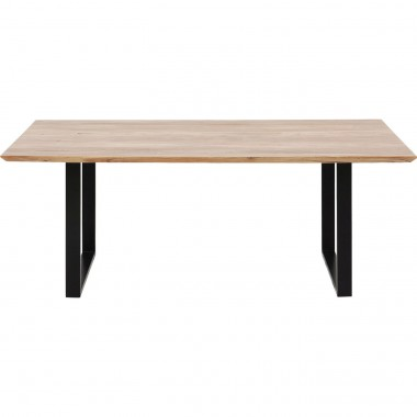 Table Symphony Black 200x100cm Kare Design