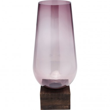 Vase Podium Purple 58cm Kare Design
