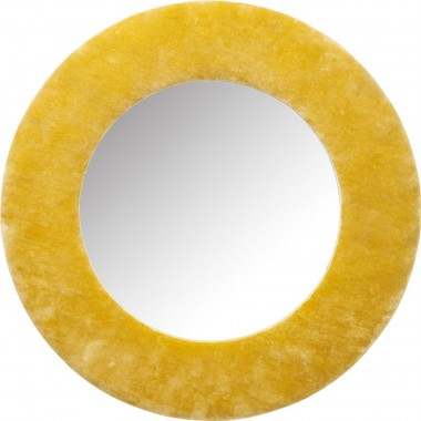 Mirror Cherry Yellow Ø80cm Kare Design
