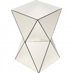 Side Table Luxury Triangle Champagne Kare Design