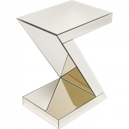 Side Table Luxury Z Champagne Kare Design
