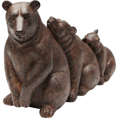 Deco Object Relaxed Bear Family Kare Design