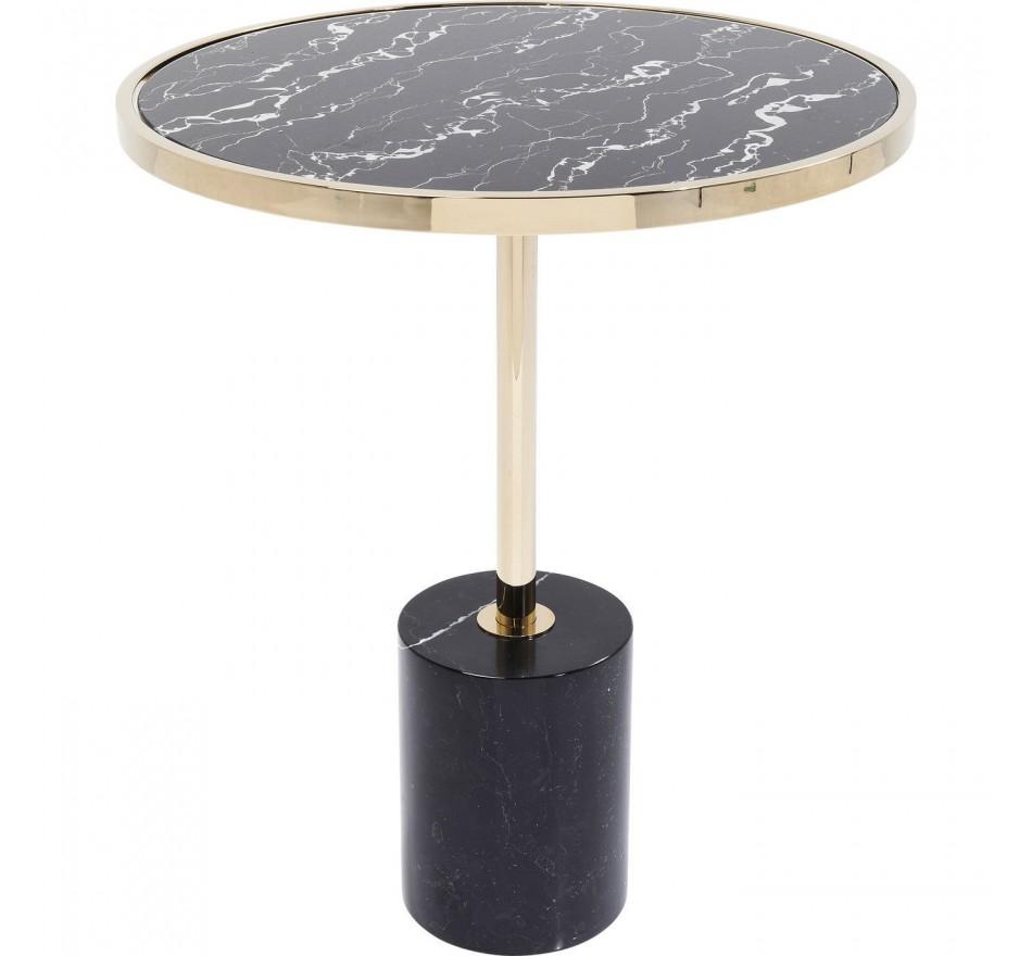 Side Table San Remo Base Black Ø46cm Kare Design