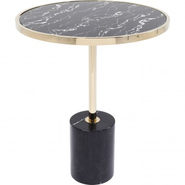 Side Table San Remo Base Black Ø46cm Kare Design