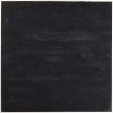 Oil Painting Abstract Deep Black 80x80cm Kare Design