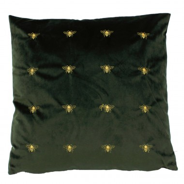 Cushion Bee Green 45x45cm Kare Design