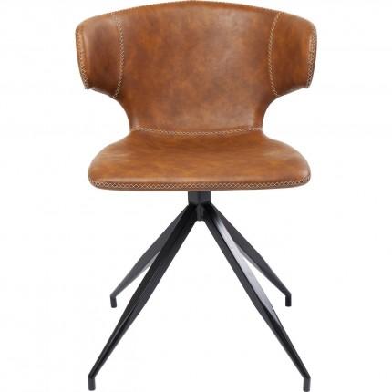 Chaise Rusty marron Kare Design