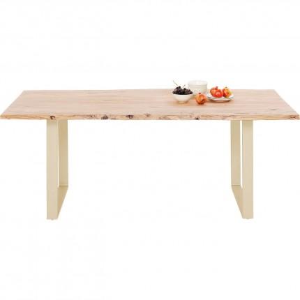 Eettafel Harmony Messing 160x80cm Kare Design