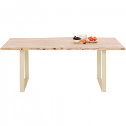 Table Harmony Brass 160x80cm Kare Design