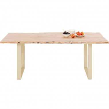 Table Harmony Brass 160x80cm Kare Design