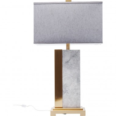 Table Lamp Charleston Marble 80cm Kare Design
