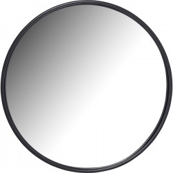 Mirror Celebration Matt Black Ø80cm Kare Design