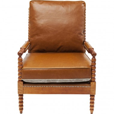 Armchair Haunted Castle Brown Kare Design