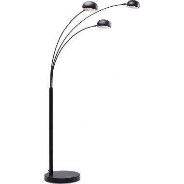 Floor Lamp  Three Fingers Black Matt Kare Design