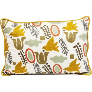 Cushion Fall Forest Birds 50x35cm Kare Design