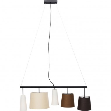 Suspension Parecchi marron 100cm Kare Design
