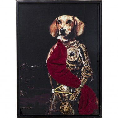 Tableau Frame Sir Dog  80x60cm