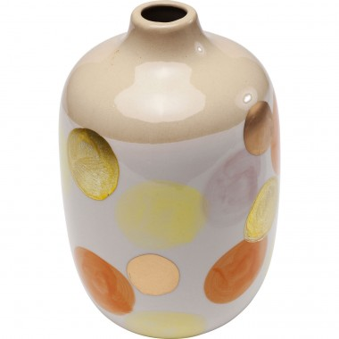 Vase Stratos Dots 25cm Kare Design