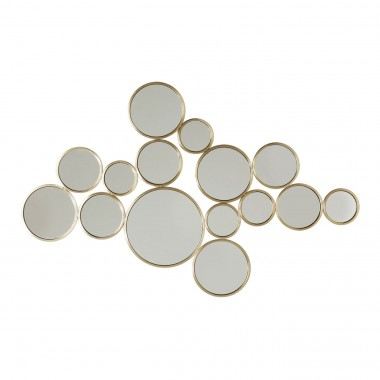 Mirror  Bubbles Brass 93x138cm Kare Design