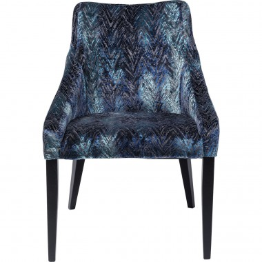 Chair Black Mode Fancy Blue