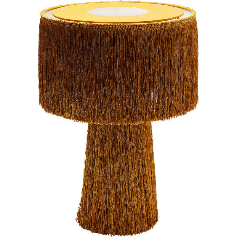 Design Table Fringes Lamp Retro Kare XN8OPk0wZn