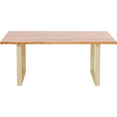 Table Jackie Oak Brass 180x90cm Kare Design